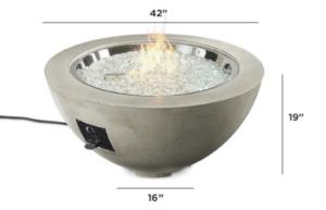 "Cove 30"" Gas Fire Pit Bowl"